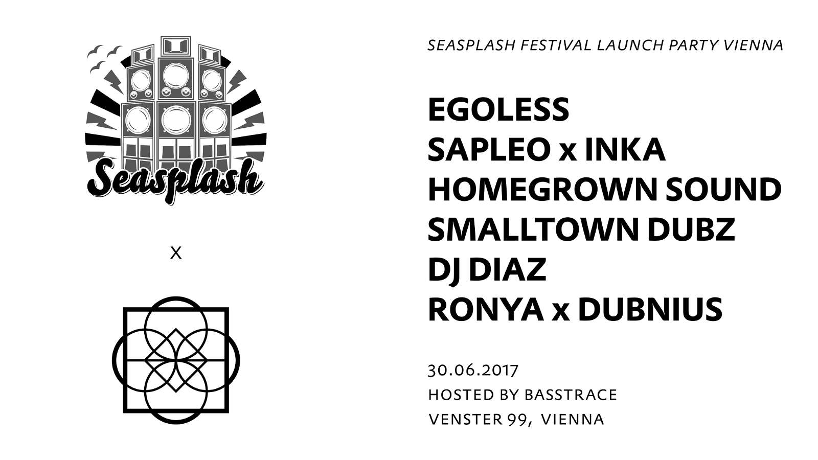 Basstrace pres. Seasplash Festival Launch Party Vienna